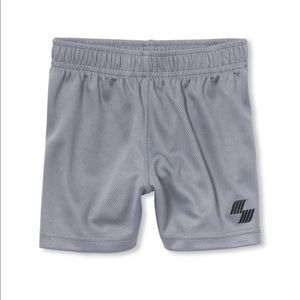 NWT PLACE Boys Gray Basketball Sport Gym Shorts 4T
